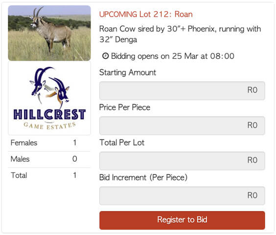 Bona Bona Hillcrest Lot 212 Timed Auction Roan Cow 30 Phoenix daughter running with 32 Denga 1 1 Hillcrest Y T71