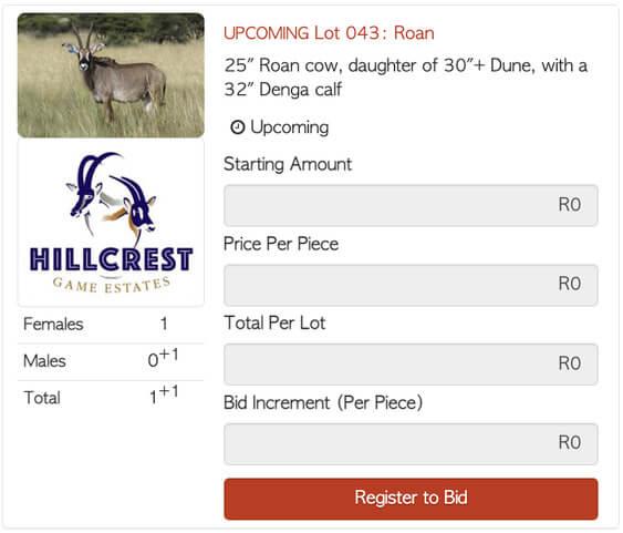 Bona Bona Hillcrest Lot 43 Live Auction 25 Roan cow daughter of 30 Dune with 32 Denga calf 1 1 Hillcrest Y T61 calf 20 13